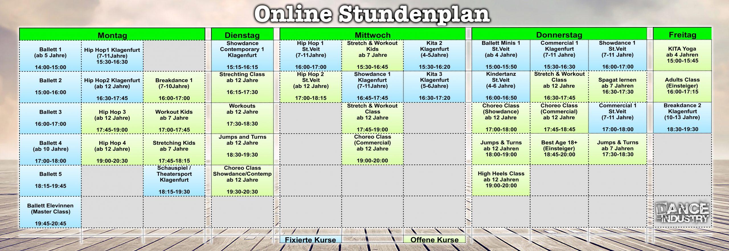 Online Stundenplan